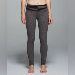 Lululemon Wunder Under Pant Giant Herringbone 8